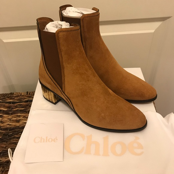dde23c0fce317 NEW Chloe Quassie Suede Ankle Boots Sz 39